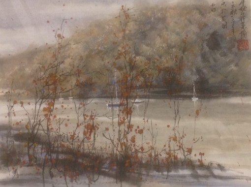 NEWTON FERRERS, AUTUMN